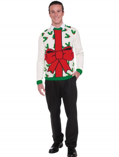All Wrapped Up Christmas Sweater, halloween costume (All Wrapped Up Christmas Sweater)