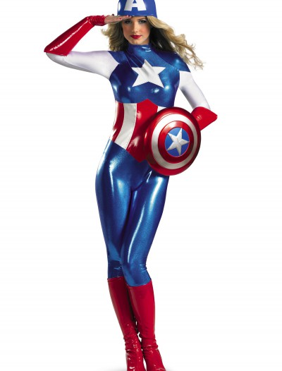 American Dream Bodysuit Adult Costume, halloween costume (American Dream Bodysuit Adult Costume)
