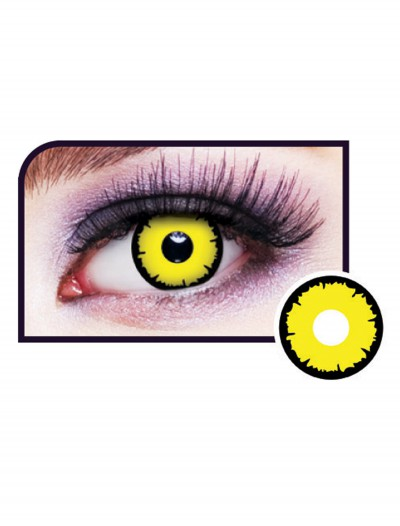 Angelic Yellow Eye Contact Lenses, halloween costume (Angelic Yellow Eye Contact Lenses)
