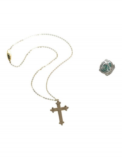 Angelica Cross Necklace and Ring, halloween costume (Angelica Cross Necklace and Ring)