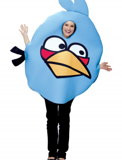 Angry Birds Adult Blue Bird Costume, halloween costume (Angry Birds Adult Blue Bird Costume)