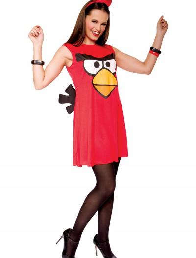 Angry Birds Adult Red Bird Tank Dress, halloween costume (Angry Birds Adult Red Bird Tank Dress)