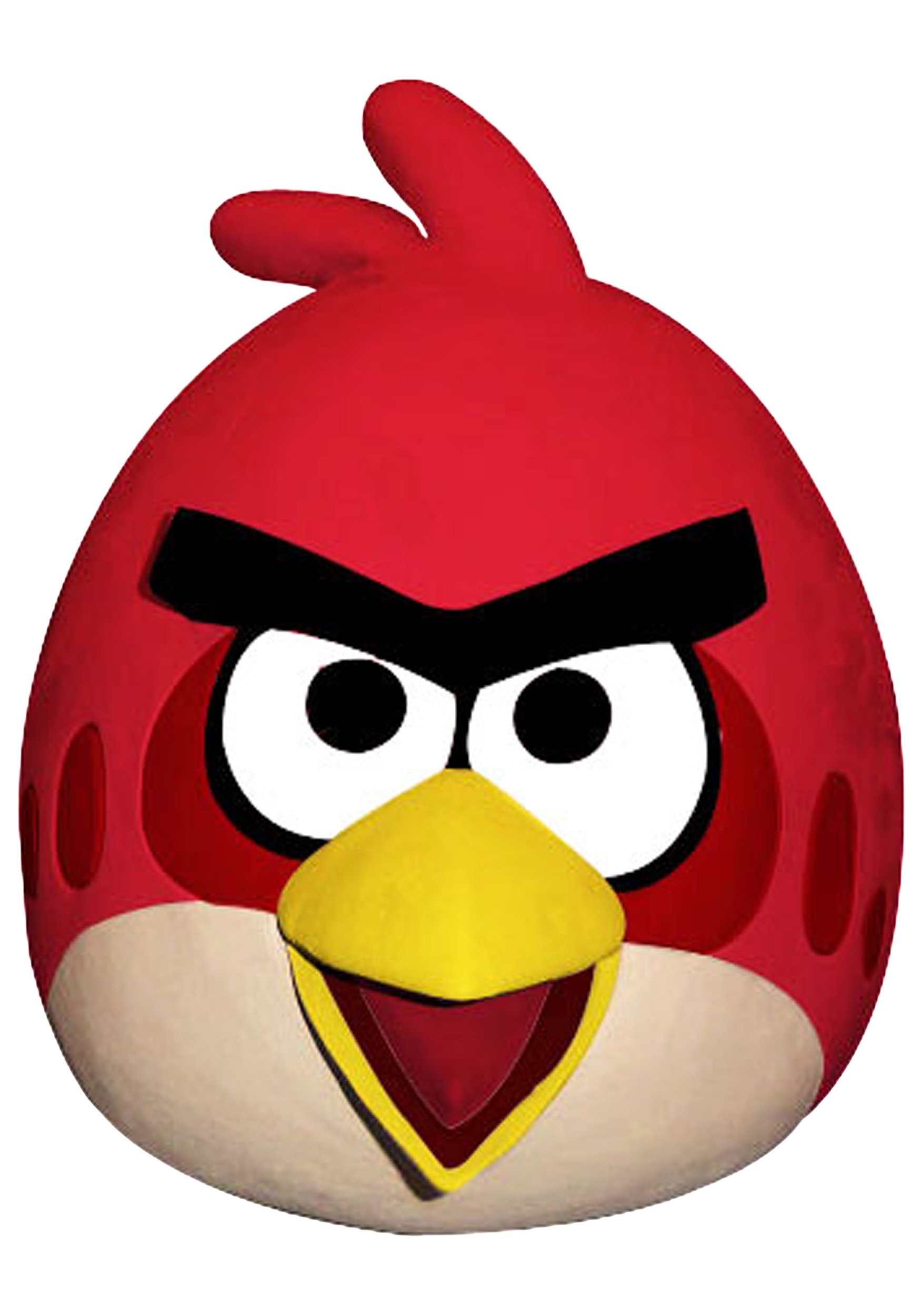 Angry Birds Red Bird Mask - Halloween Costumes