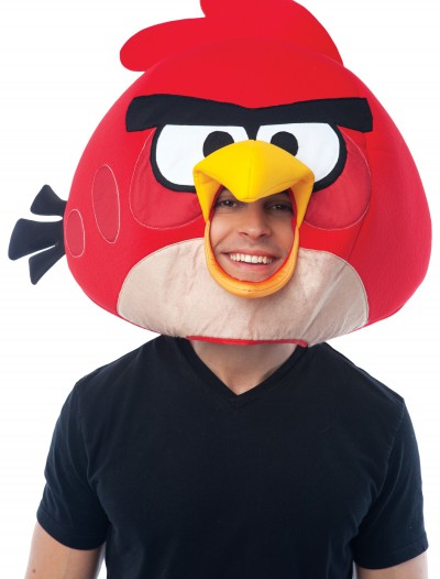 Angry Birds Red Fabric Mask, halloween costume (Angry Birds Red Fabric Mask)