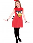 Angry Birds Tween Red Bird Costume, halloween costume (Angry Birds Tween Red Bird Costume)