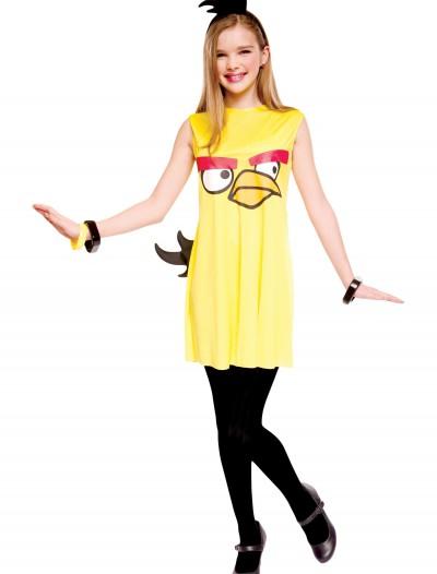 Angry Birds Tween Yellow Bird Costume, halloween costume (Angry Birds Tween Yellow Bird Costume)