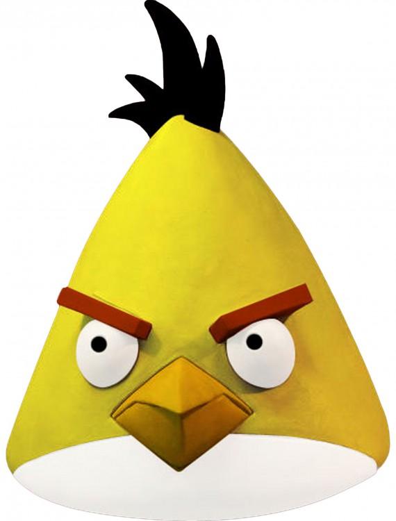 Angry Birds Yellow Bird Mask, halloween costume (Angry Birds Yellow Bird Mask)