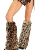 Animal Print Furry Leg Warmers, halloween costume (Animal Print Furry Leg Warmers)