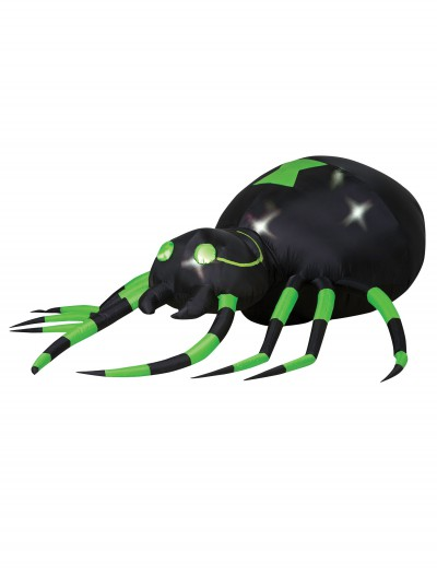 Animated Airblown Green Spider, halloween costume (Animated Airblown Green Spider)