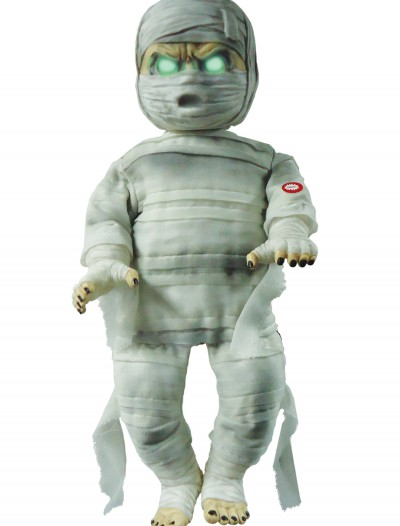 Animated Baby Mummy Prop, halloween costume (Animated Baby Mummy Prop)
