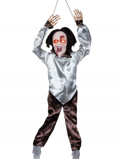 Animated Hanging Zombie, halloween costume (Animated Hanging Zombie)