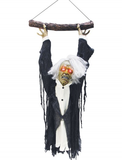 Animated Hanging Zombie Torso, halloween costume (Animated Hanging Zombie Torso)