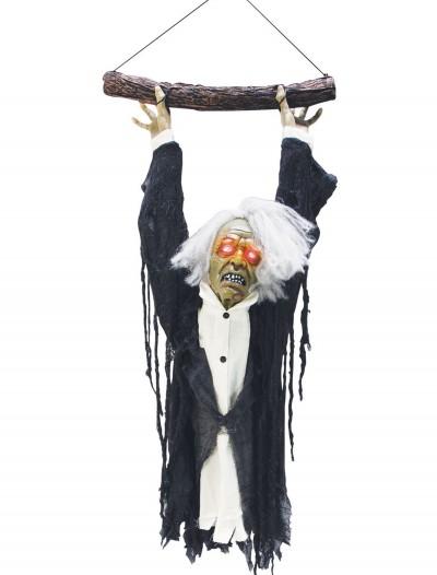 Animated Hanging Zombie Torso, halloween costume (Animated Hanging Zombie Torso)