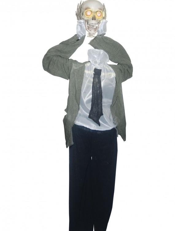 Animated Head Detached Skeleton, halloween costume (Animated Head Detached Skeleton)