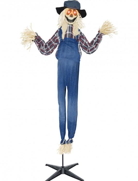 Animated Standing Scarecrow, halloween costume (Animated Standing Scarecrow)