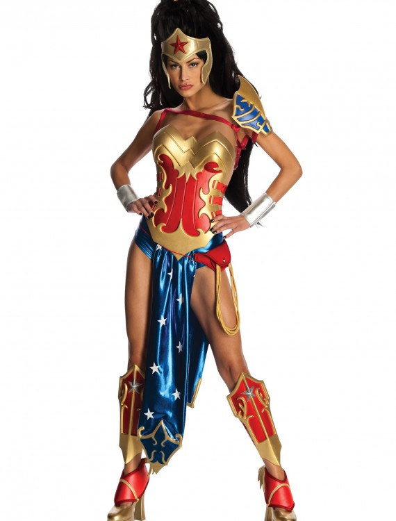 Anime Wonder Woman Costume, halloween costume (Anime Wonder Woman Costume)