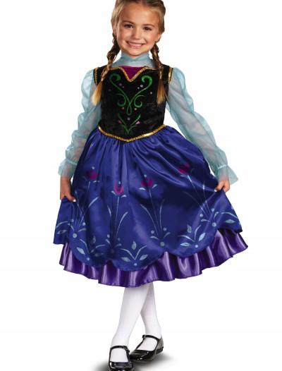 Anna Deluxe Frozen Costume, halloween costume (Anna Deluxe Frozen Costume)