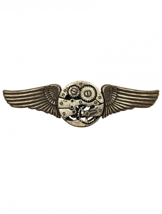 Antique Gear Wing Pin, halloween costume (Antique Gear Wing Pin)