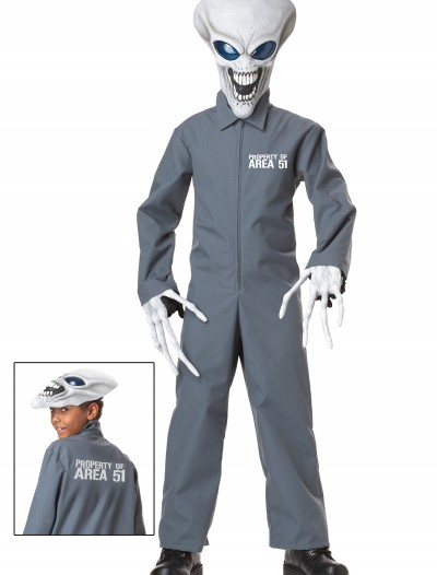 Area 51 Alien Costume, halloween costume (Area 51 Alien Costume)