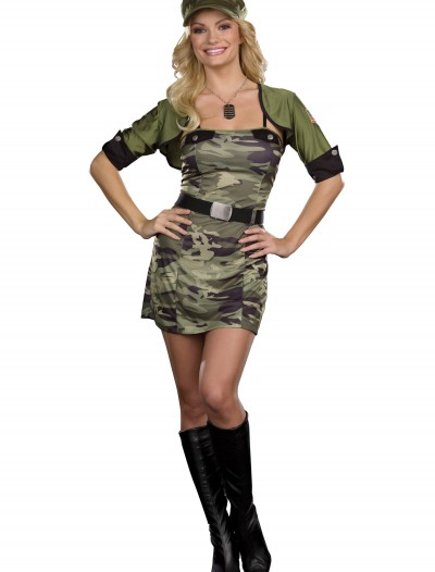 Army Cadet Cutie Costume, halloween costume (Army Cadet Cutie Costume)