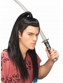 Asian Warrior Wig, halloween costume (Asian Warrior Wig)