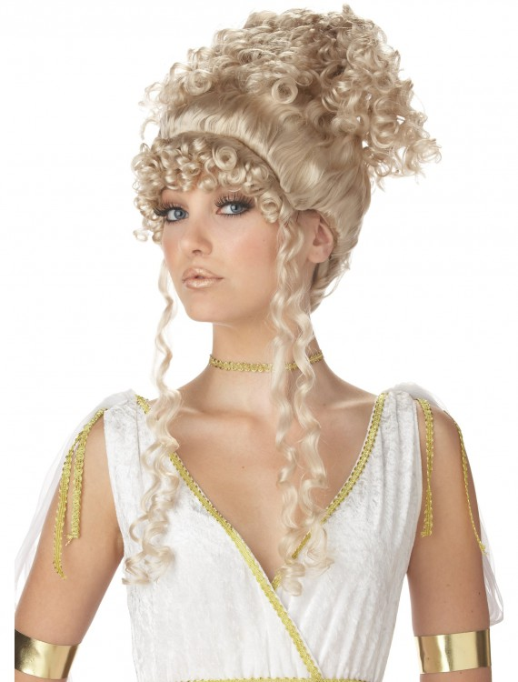 Athenian Goddess Wig, halloween costume (Athenian Goddess Wig)