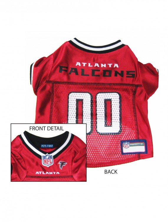 Atlanta Falcons Dog Mesh Jersey, halloween costume (Atlanta Falcons Dog Mesh Jersey)