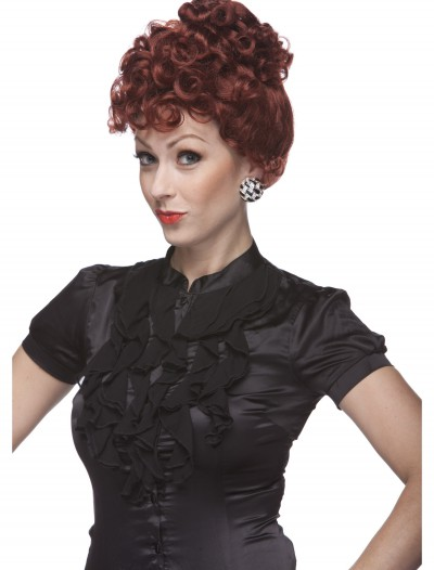 Auburn Lucy Wig, halloween costume (Auburn Lucy Wig)