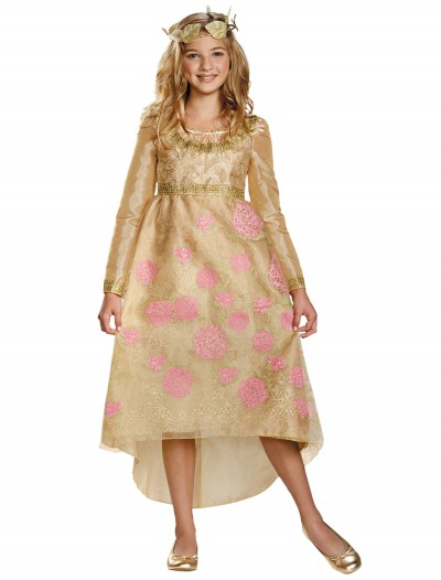 Aurora Deluxe Child Coronation Gown, halloween costume (Aurora Deluxe Child Coronation Gown)