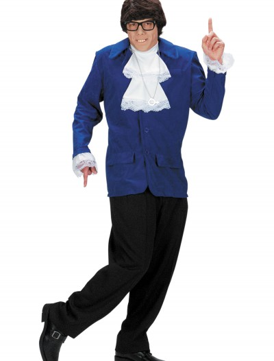 Austin Powers Adult Costume, halloween costume (Austin Powers Adult Costume)