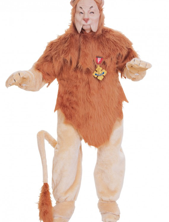 Authentic Cowardly Lion Costume, halloween costume (Authentic Cowardly Lion Costume)