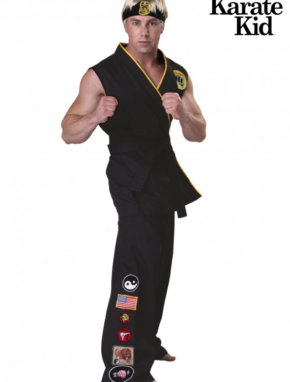 Authentic Karate Kid Cobra Kai Costume, halloween costume (Authentic Karate Kid Cobra Kai Costume)
