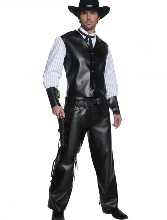 Authentic Western Gunslinger Costume, halloween costume (Authentic Western Gunslinger Costume)