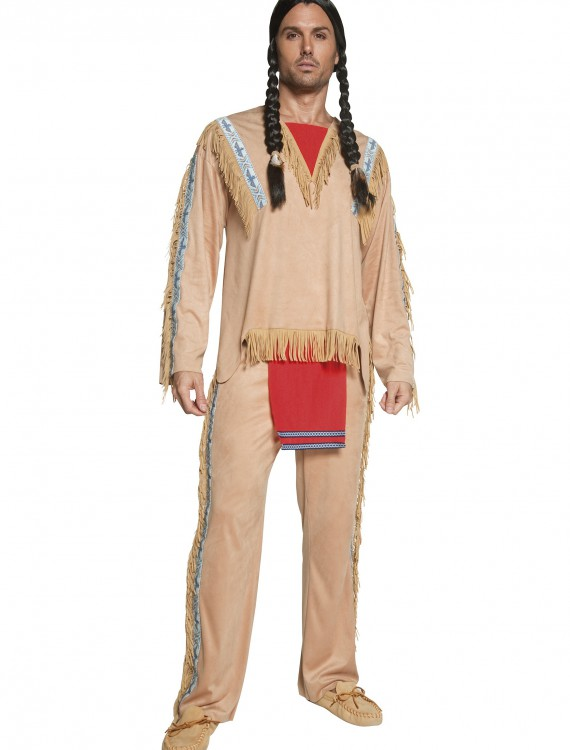 Authentic Western Indian Chief Costume, halloween costume (Authentic Western Indian Chief Costume)