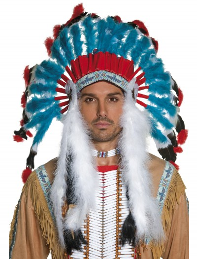 Authentic Western Indian Headdress, halloween costume (Authentic Western Indian Headdress)