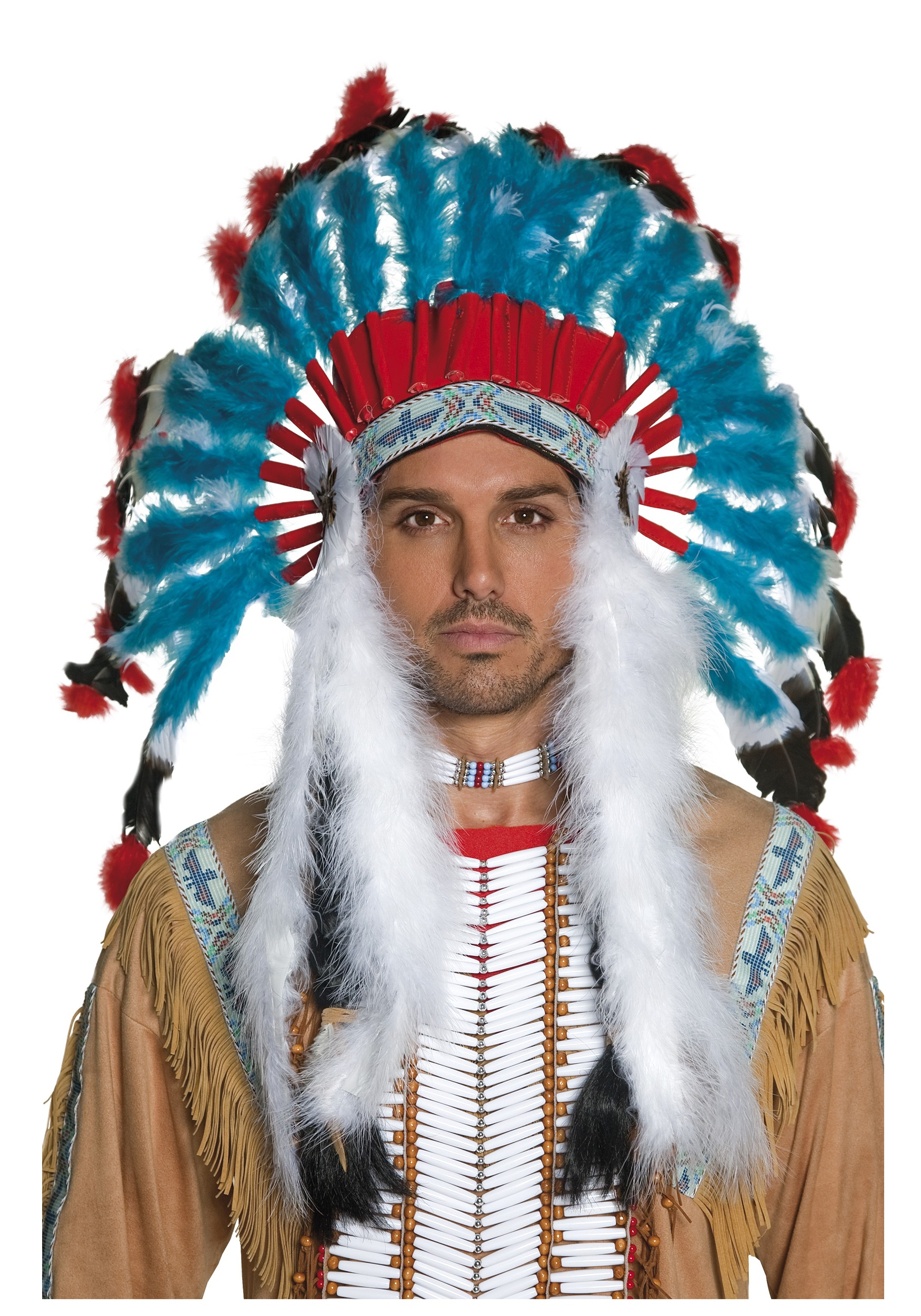 Authentic Western Indian Headdress  sc 1 st  Halloween Costumes & Authentic Western Indian Headdress - Halloween Costumes