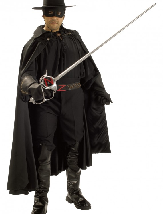 Authentic Zorro Costume, halloween costume (Authentic Zorro Costume)