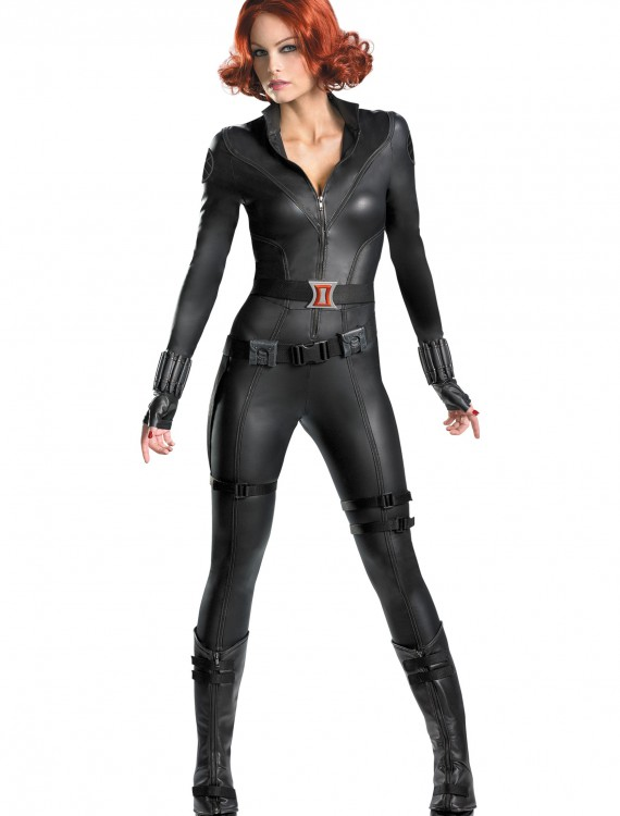 Avengers Replica Black Widow Costume, halloween costume (Avengers Replica Black Widow Costume)