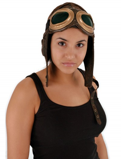 Aviator Brown Hat, halloween costume (Aviator Brown Hat)