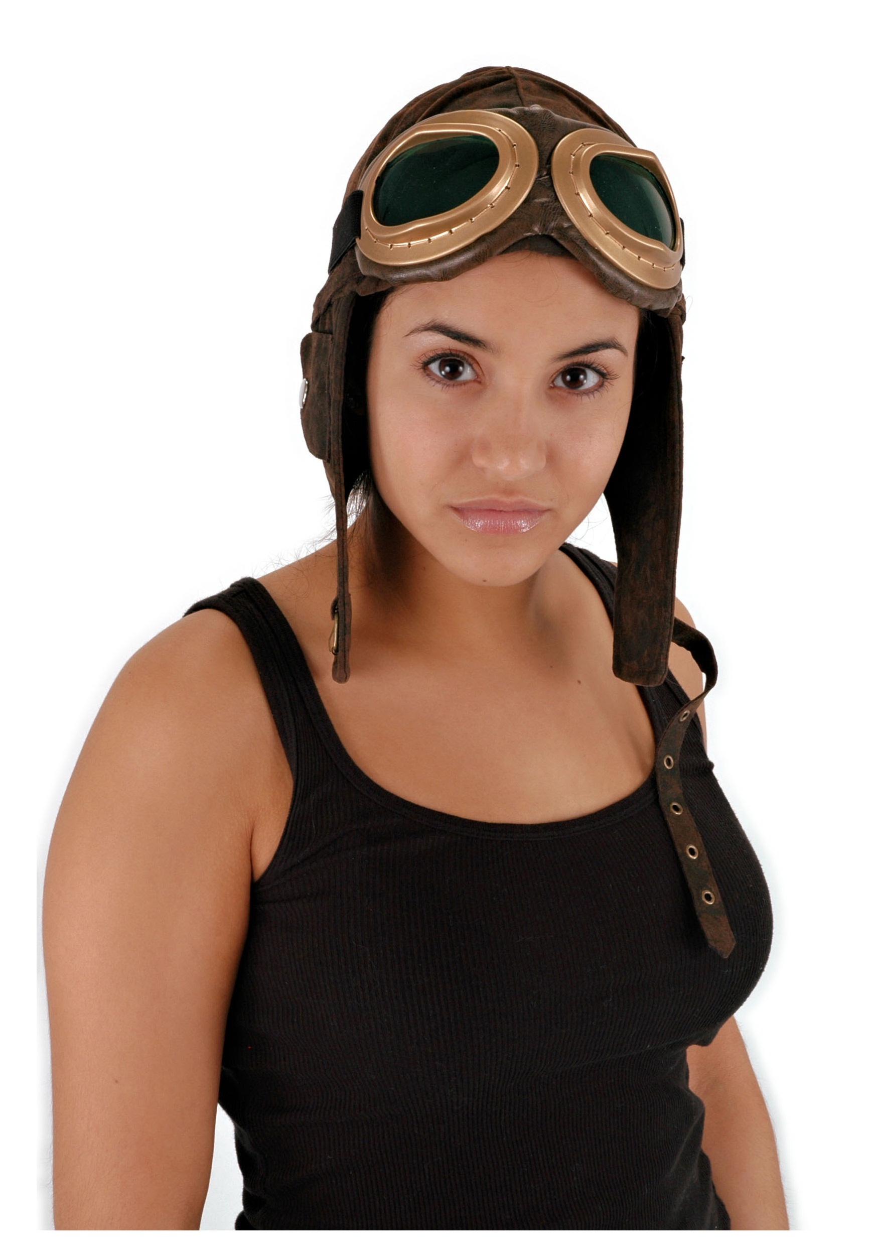 Aviator Brown Hat  sc 1 st  Halloween Costumes & Aviator Brown Hat - Halloween Costumes