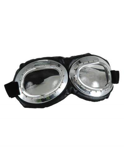 Aviator Goggles Silver, halloween costume (Aviator Goggles Silver)