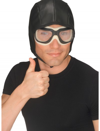 Aviator Helmet and Goggles Set, halloween costume (Aviator Helmet and Goggles Set)