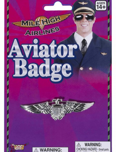 Aviator Wings Badge, halloween costume (Aviator Wings Badge)