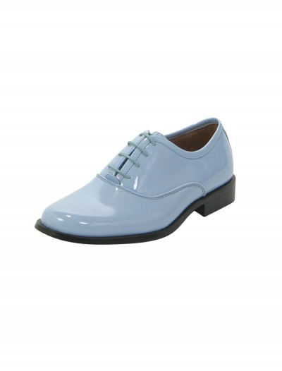 Baby Blue Tuxedo Shoes, halloween costume (Baby Blue Tuxedo Shoes)