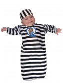 Baby Convict Bunting, halloween costume (Baby Convict Bunting)