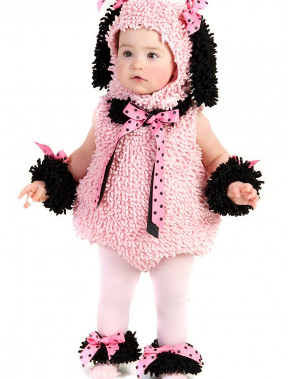 Baby Pink Poodle Costume, halloween costume (Baby Pink Poodle Costume)