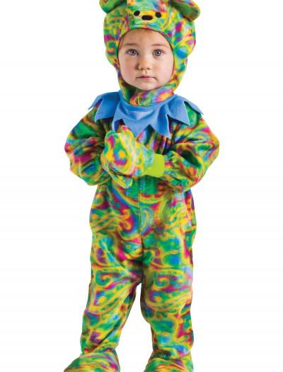 Baby Tie Dye Bear Costume, halloween costume (Baby Tie Dye Bear Costume)