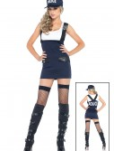 Bad Cop Police Girl Costume, halloween costume (Bad Cop Police Girl Costume)