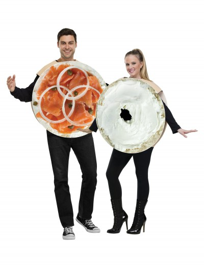 Bagel and Lox Costume, halloween costume (Bagel and Lox Costume)