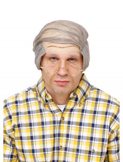 Bald Comb-Over Wig, halloween costume (Bald Comb-Over Wig)